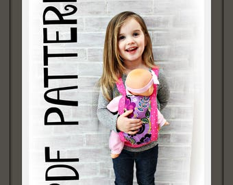 Doll Carrier PDF TUTORIAL/PATTERN - Instant Download