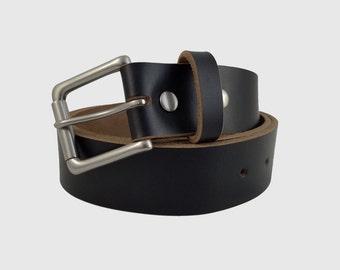 brown chromexcel horween leather belt 1 5 w