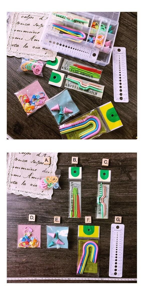 Knitting Tools Kit : Knitting tools set wool sweater yarn needle craft tool kit