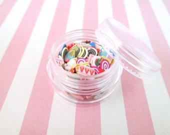 Polymer Clay Dessert Slices, Nail Art Slices, Faux Dessert, Miniature Dessert, E210