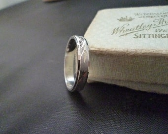 Vintage sterling silver ring - 925 - Size O - US 7.25