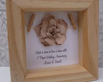 60th Wedding Anniversary Gifts New Zealand : 60th anniversary gift, 15th wedding anniversary gift, Crystal wedding ...