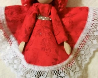 Clothespin Doll 8