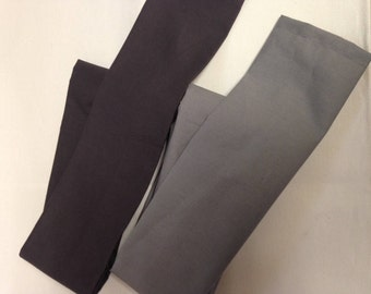 Gray Cotton Fabric Cord Cover Variety of Shades and Sizes