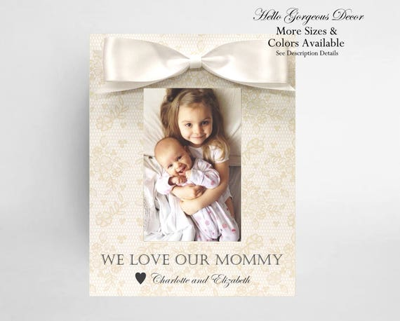 mom gift picture frame personalized mother birthday gift ideas new mom expecting mother soon to be mom twins pregnancy custom photo frames from - Mom Frames