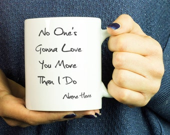 I love you more mug - Funny Couple mugs - Personalized gift for her