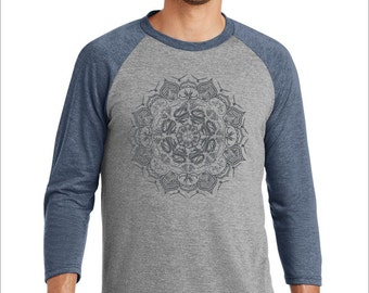 Phish Mandala Men's Baseball Tee
