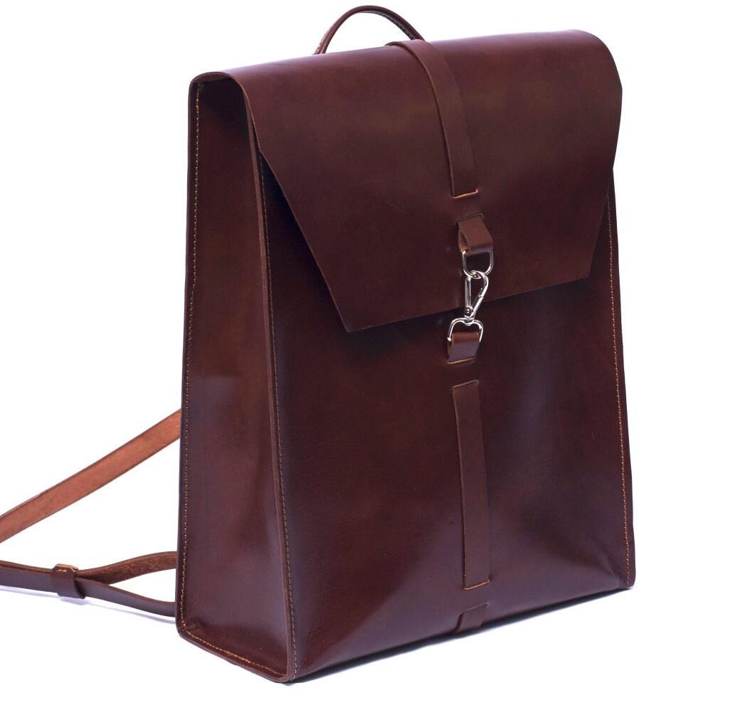 Leather backpack, Leather bag men, Desing Ludena men bag, Ludena ...