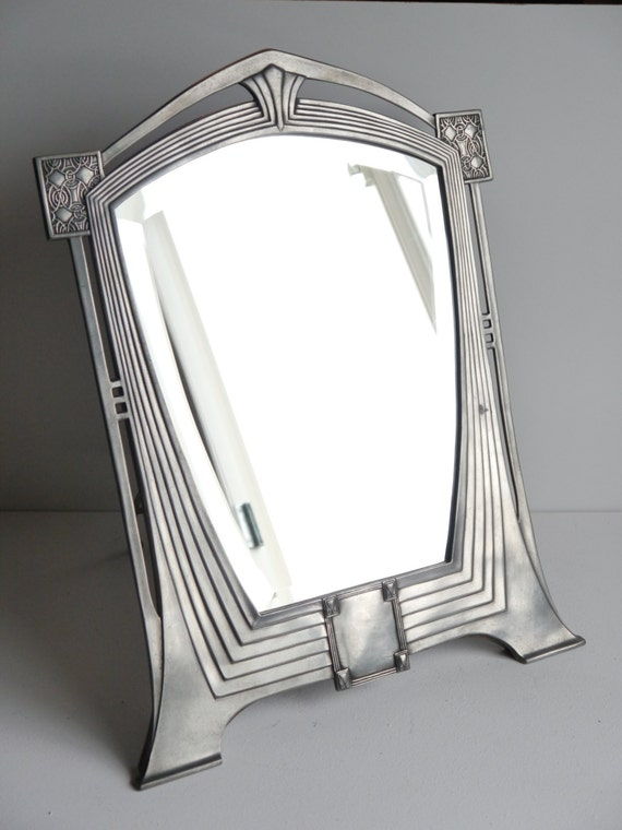 Art Deco Mirror By Achille Gamba