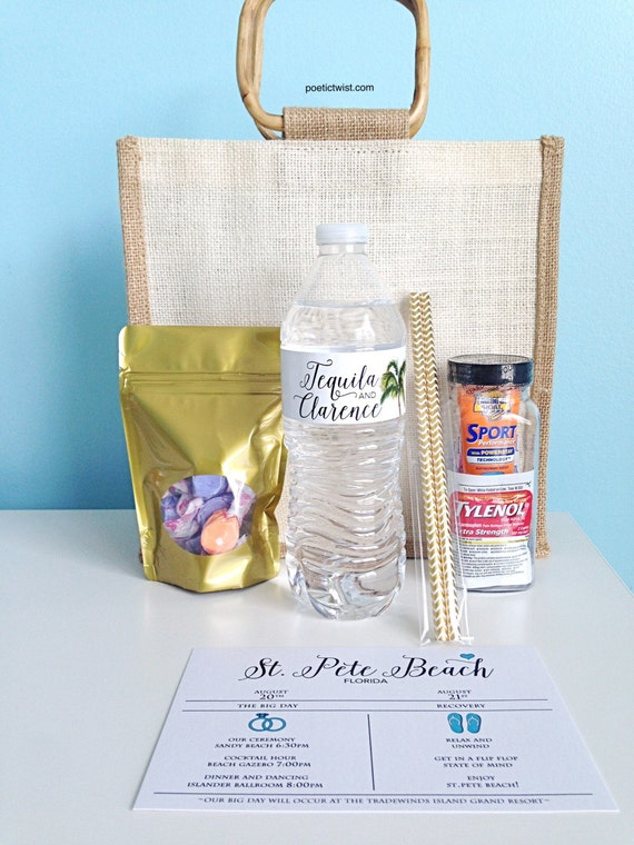 Wedding Guest Gift Bags Uk : Guest Welcome Bags- Hotel Bags -Guest BagsDestination Wedding ...