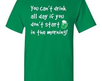 Funny St Patricks Day Shirt Funny Irish Shirt for St Paddys Day Shirt Funny Drinking Shirt Green Beer Shirt St. Patrick's Day Shirt Ireland