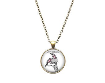 Meme necklace Bogs pendant Gooby jewelry