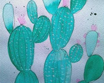 Illustration de cactus