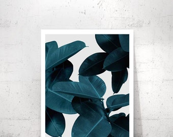 Tropical Leaf Print, Plant Prints, Modern Art, Tropical Printable Art, Tropical Decor, Plant Leaf Print, Leaf Printable, Leaf Photo, Leaves