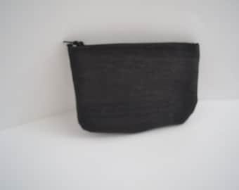 Little purse made of black Cork