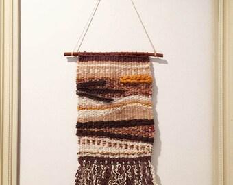 Warmed earth, hand weaving