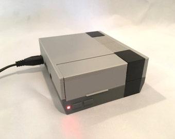 Raspberry Pi Case Nintendo NES Case - Plain Lid - 2B or Pi 3
