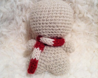 Hearthstone the Elf, Candy Cane, Miniature knitted Scarf
