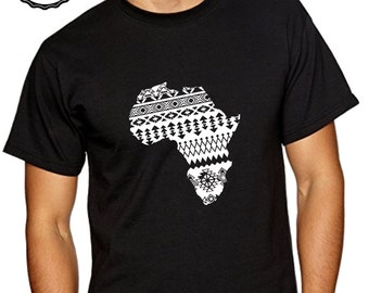 Abstract Africa tshirt