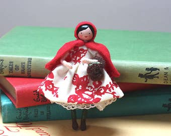 Red-Riding Hood Art Doll