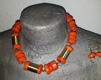 Necklace of coral