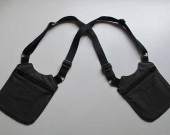 Olive green UNISEX HOLSTER BAG/green olive unisex holster bag