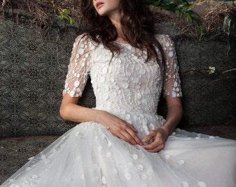Wedding gown ESTY STYLE - Blossom 1117