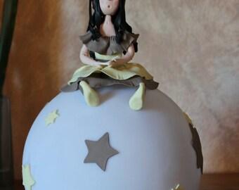 Night Elf in cold porcelain