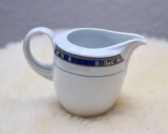 Vintage Seltmann Germany Milk Pitcher, Seltmann Weiden Creamer, Bavarian milk jug, German Porcelain Milk Pitcher, Mid Century Modern Jug