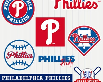 Philadelphia Phillies SVG, Phillies Baseball Clipart, Phillies DXF, Baseball Clipart,Phillies Baseball Clipart,Clipart SVG, mb-12