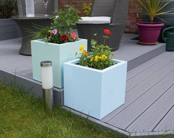 Galvanised Steel Flower Planter