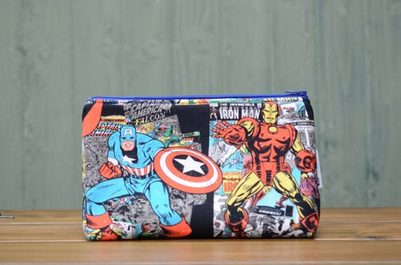 Thor and Iron Man large bag
