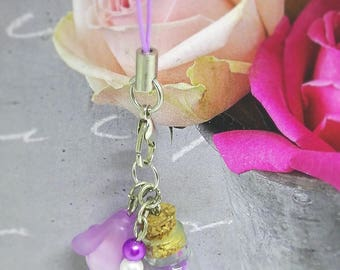 Key ring or other accessory - little hearts