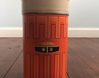 Orange King Seeley Thermos