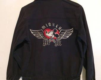 Micky Mouse Club Black Denim Jacket