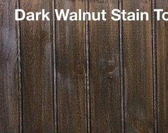 Rethunk Junk by Laura - Stain Top - Dark Walnut.