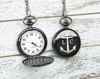 Custom Pocket Watch, Pocket Watch, Father of the Groom, Mens Pocket Watch, Personalized Pocket Watch, Groomsmen Watches, Groomsmen gifts