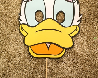 Daisy Duck Paper Mask Adult Size