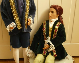 Interview with the Vampire Giftset Dolls Lestat and Louis OOAK