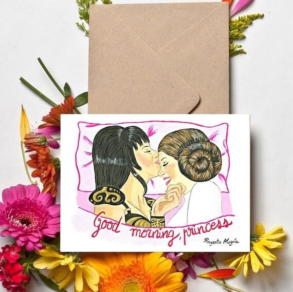 Lesbian Valentine Card 25