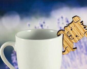 Tea Buddy™ Puppy Tea Steeper | tea strainer, cute puppy lover gift, cute gift for her, tea steeper, tea gift, loose leaf tea, kitchen decor
