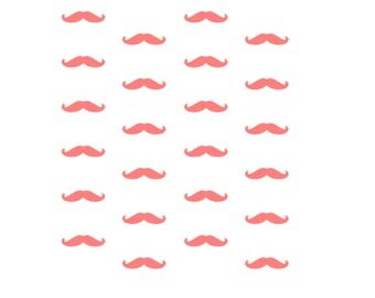 Mustache Cookie Stencil, 5.5 x 5.5, Mustache Fondant Cookies, Mustache Sugar Cookies, Baby Shower Cookies, Baby Shower Stencil