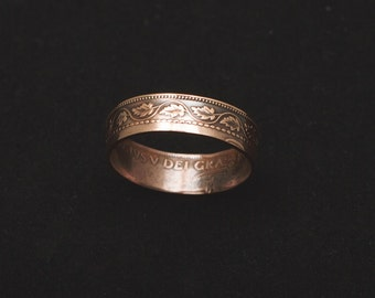 Coin Ring-Canadian Large Cent