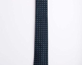 Navy Wedding Tie, Navy Necktie, Dot Tie, Navy Tie, handmade Tie, Wedding Tie,  Classic Necktie, Abacus in Navy Tie