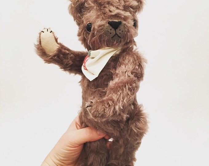 Mohair teddy bear, classic bear, stuffed bear, plush bear, handmade toys, gifts for kids, kawaii bear, artist bear