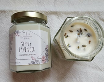 Sleepy Lavender Soy Candle