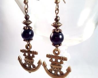 Earrings One Piece Bronze