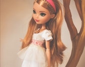 Pearly Petals - One Piece Dress for Ever After doll