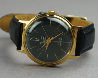Soviet watch,Poljot De luxe, USSR watch, men's watch, watch, Poljot, mechanical watch, made USSR, Poljot watch, men's watch USSR