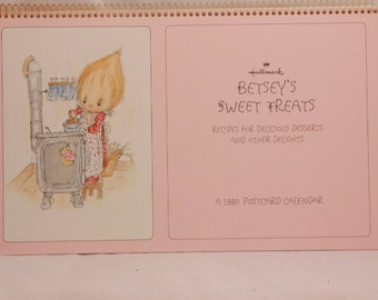 Betsey Clark's Family Favorites. A 12 Month Recipe Calendar for 1981.